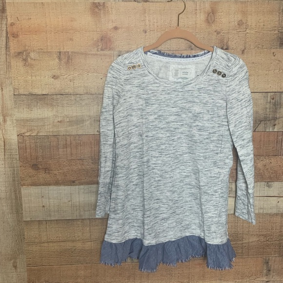Anthropologie Sweaters - Anthropologie Mixed Media Sweater Tunic